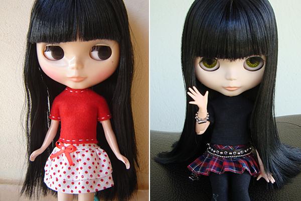 Antes e Depois da Sabrina