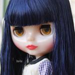 Adoção: Neo Blythe Curly Blue Baby
