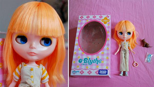 Adoção: Neo Blythe Simply Mango