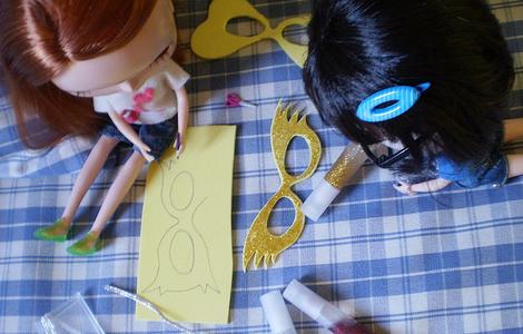 Máscara de Carnaval para Blythe