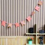 Bandeirolas para Cenários e Dollhouse