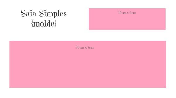 Molde Saia Simples