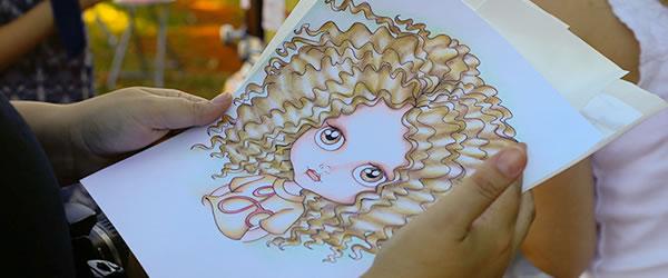 Ilustrações e Bonecas: Maria Emília