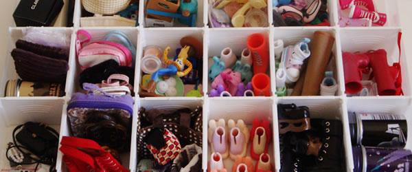 Vida de Bonequeira: Organizando
