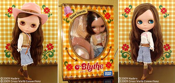 Blythe Urban Cowgirl para Adoção